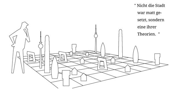 Die Stadt des Aussenraumes