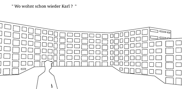 Zwischen Haus und Stadt