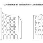 Retro, Hackbraten-Architektur